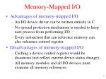 memory mapped i o2