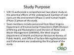 study purpose1