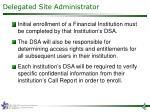 delegated site administrator1