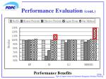 performance evaluation cont3