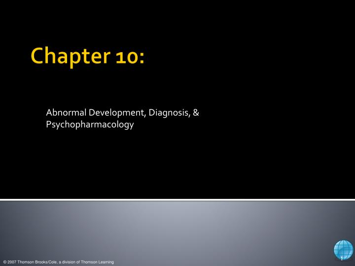 abnormal development diagnosis psychopharmacology n.