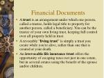 financial documents1