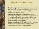 health care decisions1