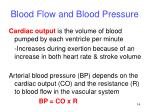 blood flow and blood pressure1