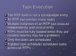 task execution