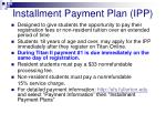 installment payment plan ipp