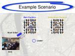 example scenario1