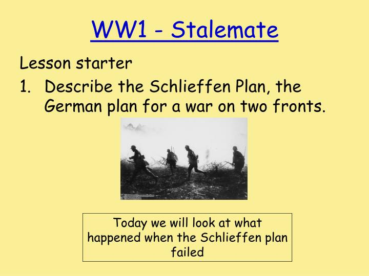 the schlieffen plan essay Schlieffen plan failure essay: huntington beach library homework help essay 1 becca 0 medical school has zapped me of any potential i had for original thought.