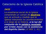 catecismo de la iglesia cat lica
