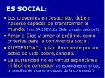 es social