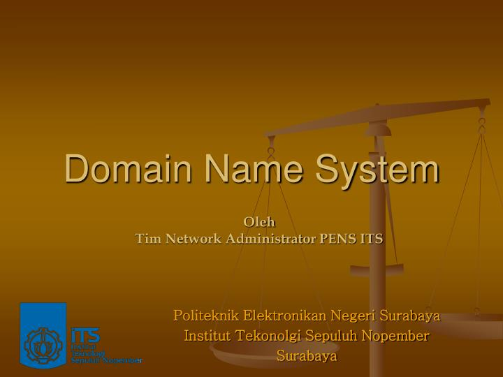 domain name system n.