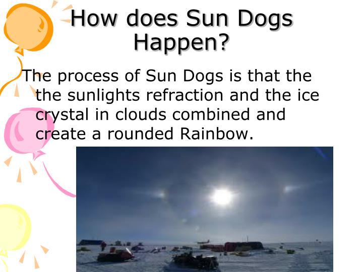 How does Sun Dogs Happen?