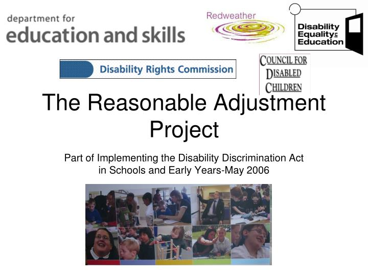 the reasonable adjustment project n.