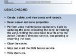 using dnscmd
