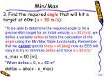 min max10