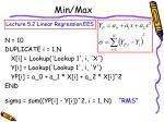 min max14