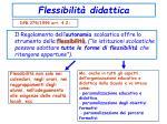 flessibilit didattica