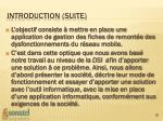 introduction suite