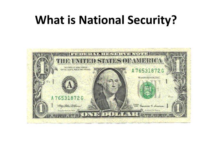 what is national security n.