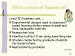 ellis s levels of research3