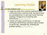 learning styles5