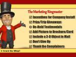 the marketing ringmaster3