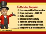 the marketing ringmaster4