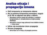 analiza uticaja i propagacija izmena