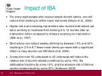 impact of iba