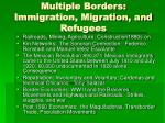 multiple borders immigration migration and refugees