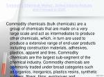 commodity chemicals market global industry analysis and forecast to 20201