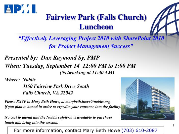 fairview park falls church luncheon n.