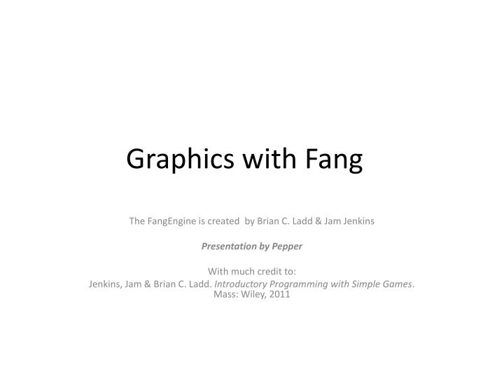 graphics with fang n.