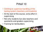 pitfall 10