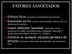 fatores associados