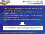 3 2 comment on strategic development of div