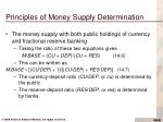 principles of money supply determination6