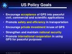 us policy goals