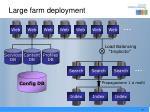 large farm deployment