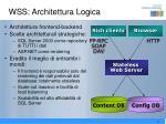 wss architettura logica