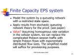 finite capacity eps system