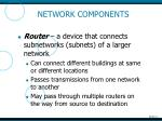 network components1