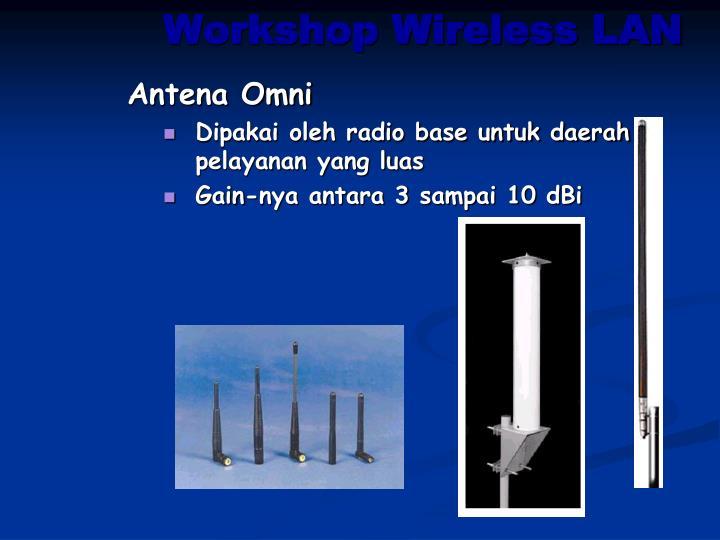 Workshop Wireless LAN