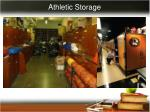 athletic storage