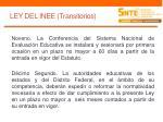 ley del inee transitorios1
