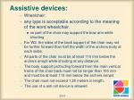 assistive devices1