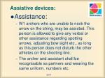 assistive devices8