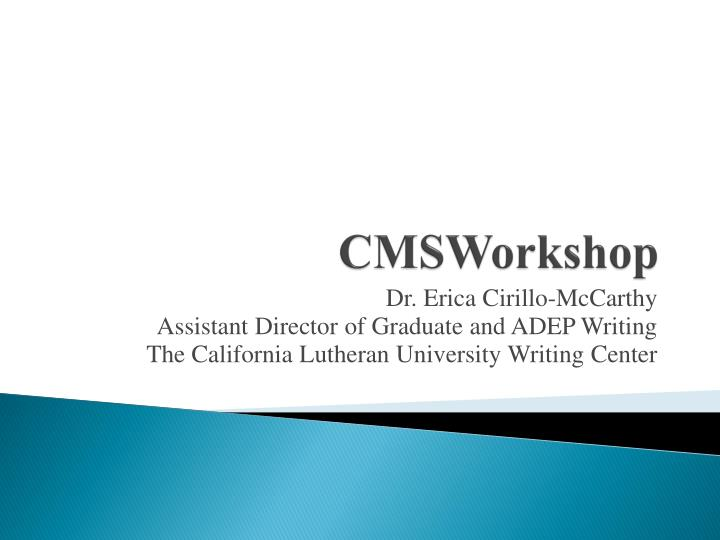 cmsworkshop n.