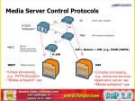 media server control protocols