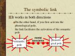 the symbolic link4